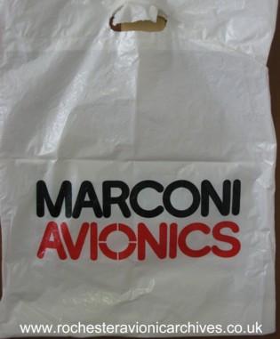 Marconi Avionics Carrier Bag