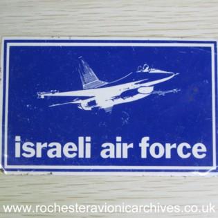 Israeli Air Force Sticker
