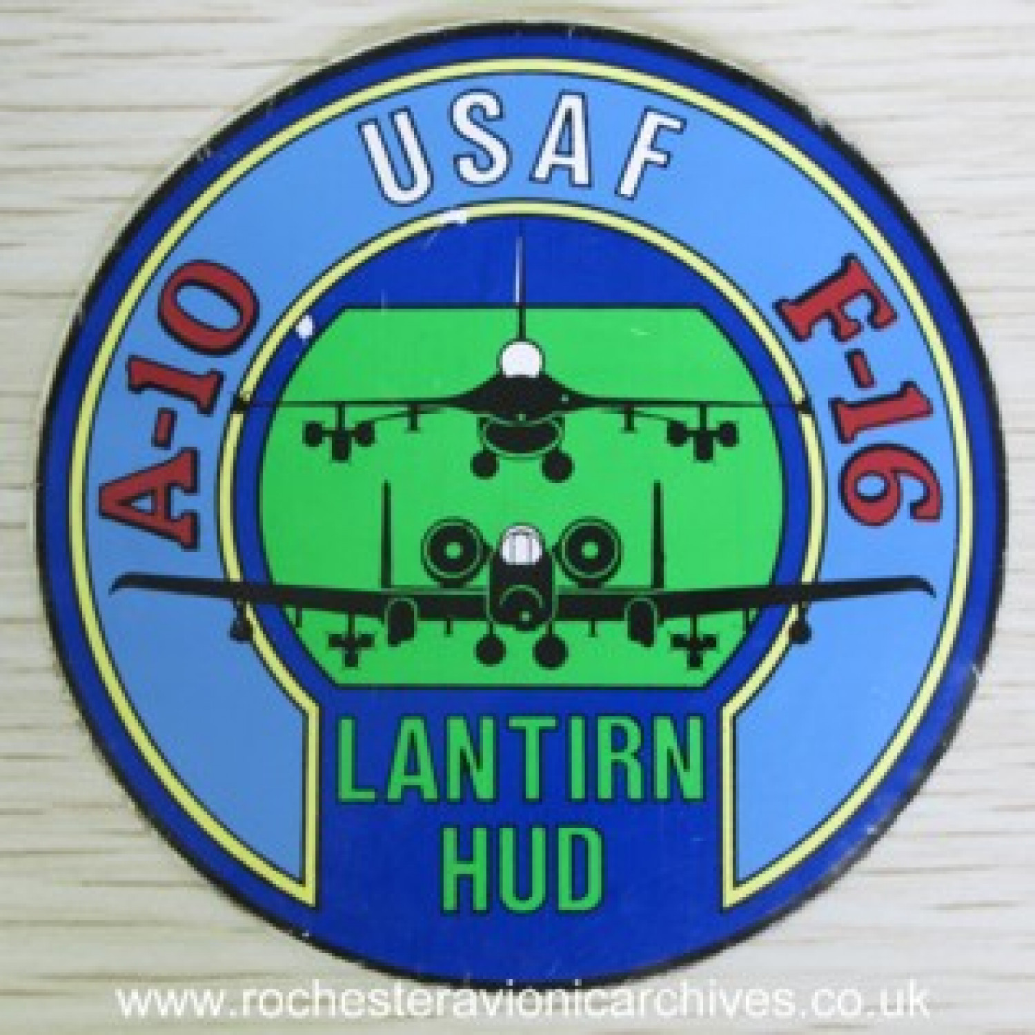LANTIRN HUD Sticker
