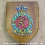 Plaque from RNLAF 323 Squadron
