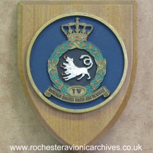 Plaque from RNLAF Twenthe Air Base