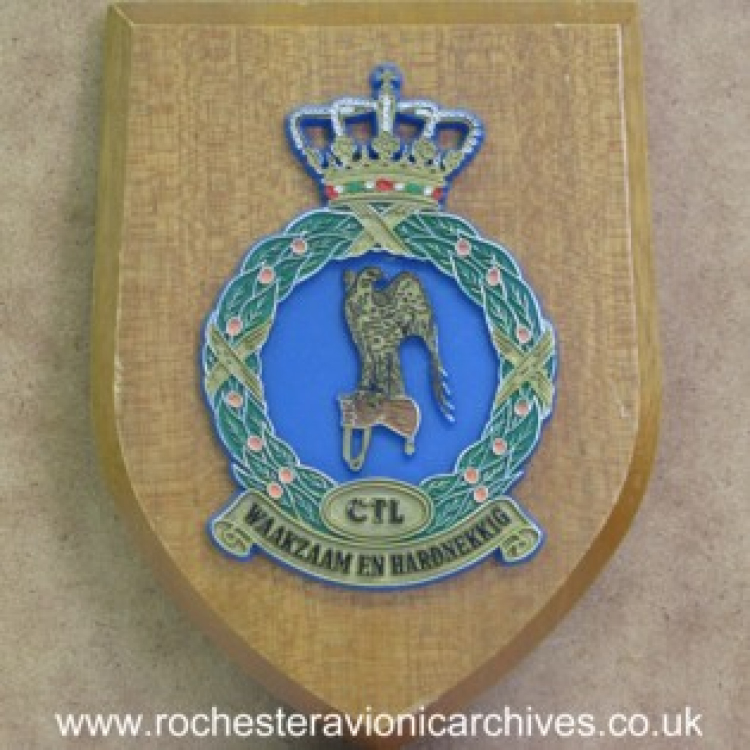 Plaque from RNLAF Tactical Air Command