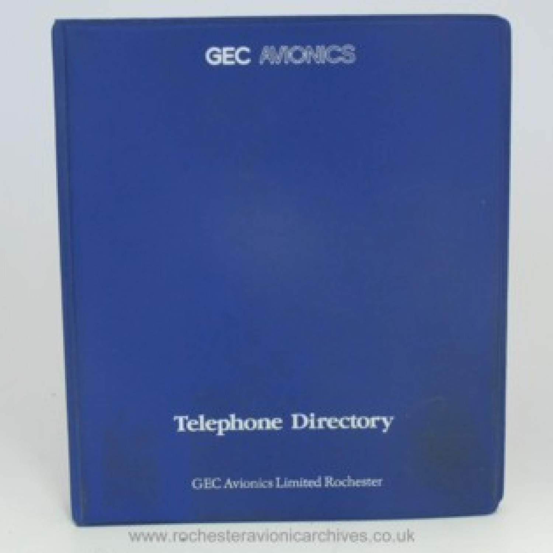 Internal Telephone Directory