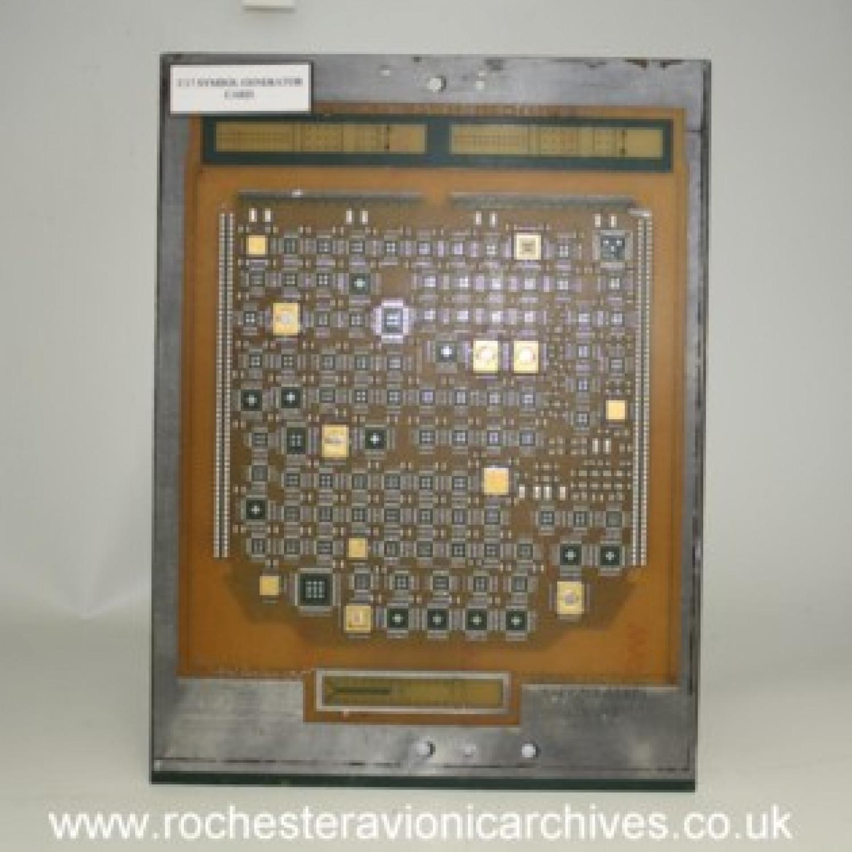 C-17 HUD Symbol Generator Card