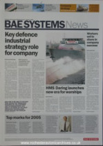 BAE Systems News 2006 Q1