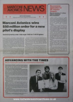 MARCONI AVIONICS NEWS Iss. 50