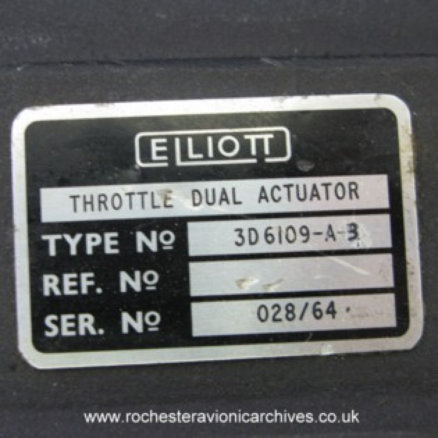 Throttle Dual Actuator