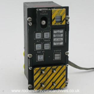 Jaguar FBW Pilot's Control & Switch Panel