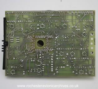 Amplifier (Incidence Warning) Circuit Board