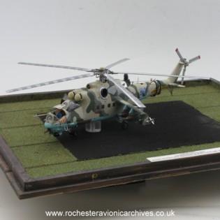 Mil Mi-24D Assault Helicopter Gunship