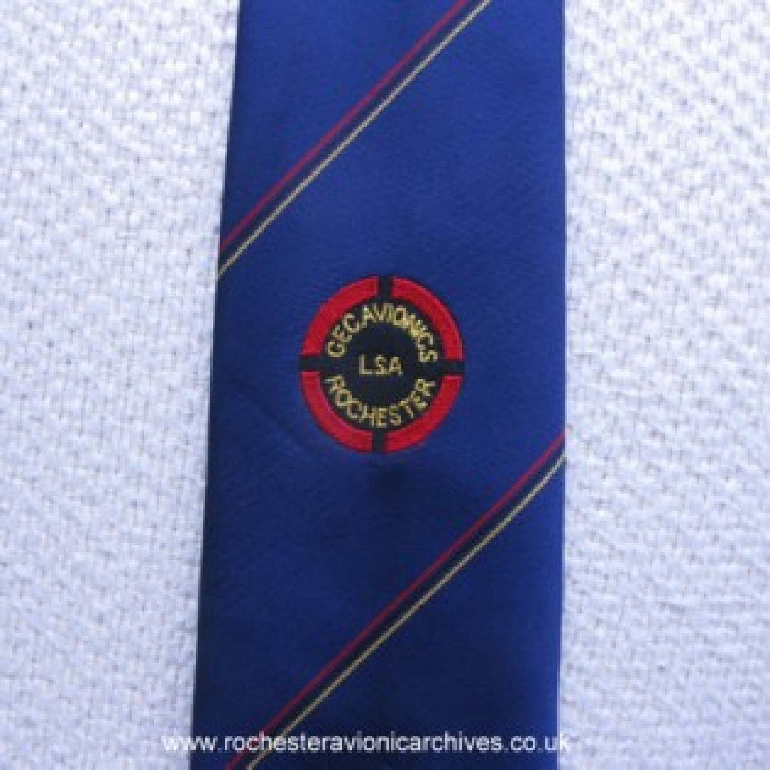 GEC Avionics Long Service Association Tie