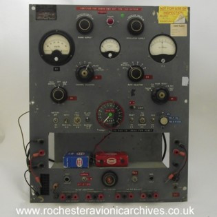 Fuel Flow Amplifier & Indicator Test Set