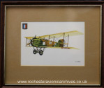 French Aircraft print