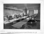 Early picture of the Data Processing Room at Rochester (2)