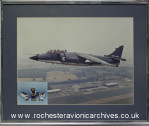 Royal Navy Harrier with Flight Control system