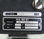HUD Pilot's Display Unit