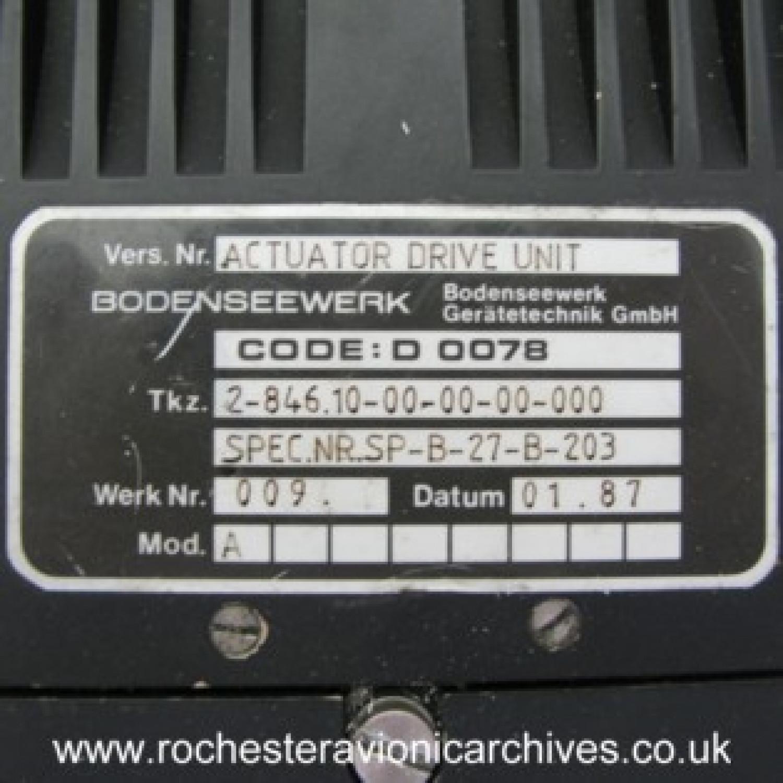 EAP Actuator Drive Unit (ADU)