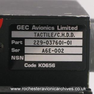 A-6E Colour Head-Down Display