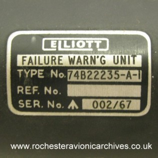 Failure Warning Unit