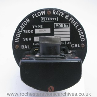 Fuel Used & Flow Rate Indicator