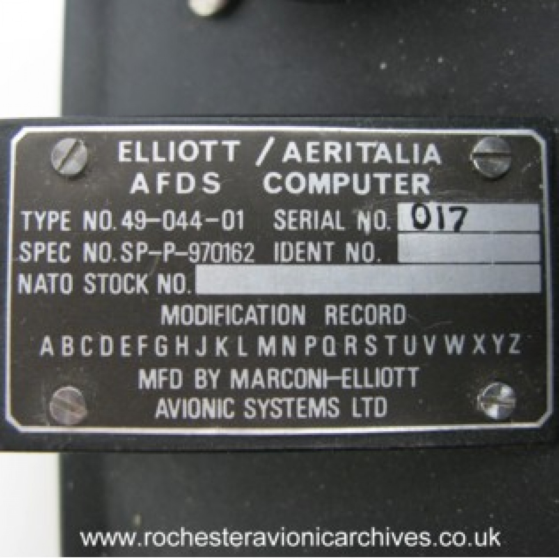 Auto-Pilot Flight Director Computer