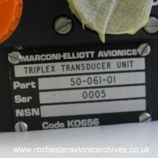 Tornado Air Data System Triplex Transducer Unit