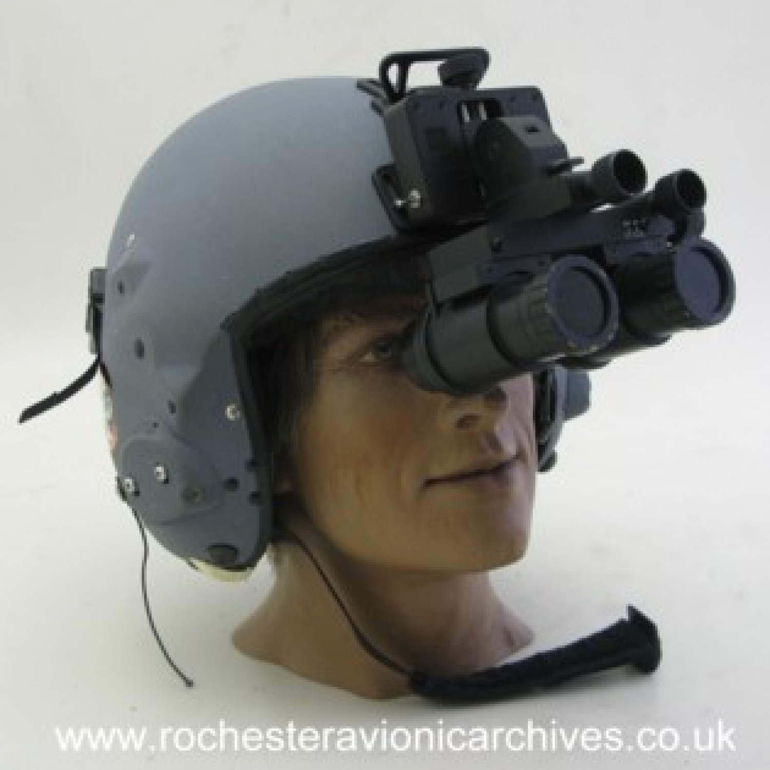 Helmet with Ground Owl Goggles