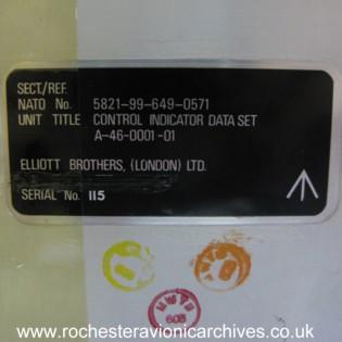Control Indicator Data Set