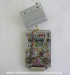 Command Rate/Roll Accelerometer Circuit Module