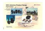 GEC Avionics Product Range