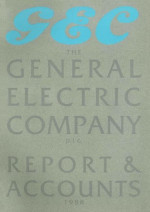 GEC Report & Accounts 1988