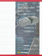 Sensor 8 High-Bandwidth Sealed Video Recorder