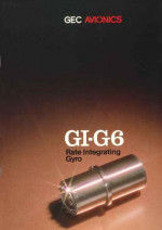 GI-G6 Rate Integrating Gyro