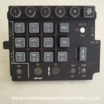 F-16 LANTIRN HUD Illuminated Control Panel