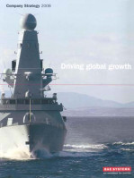 Company Strategy 2008 - Driving Global Growth