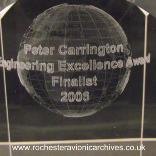Peter Carrington Award