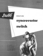 Bristol's Miniature Syncroverter Switch