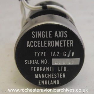 Single Axis Accelerometer