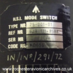 HSI Mode Switch