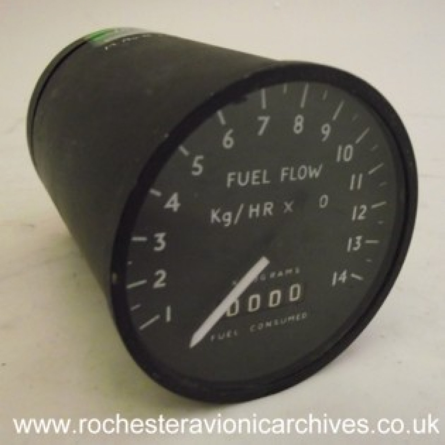 Trident Fuel Consumed & Flow Rate Indicator