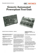 Generic Automated Powerplant Test Unit
