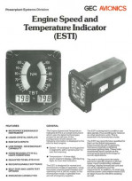 Engine Speed and Temperature Indicator (ESTI)