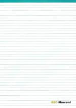 GEC-Marconi Avionics Brochure Wallet