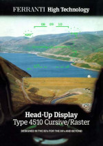 Head-Up Display Type 4510 Cursive/Raster
