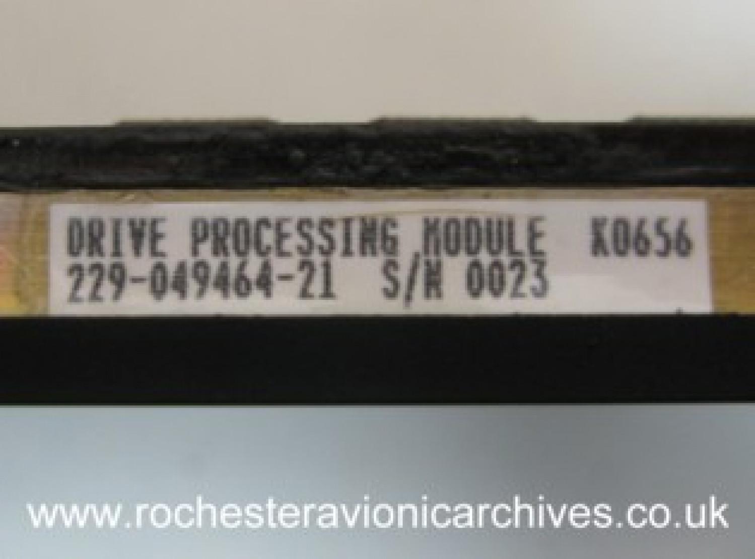 Drive Processing Module
