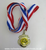 GEC Swimming Club Medal