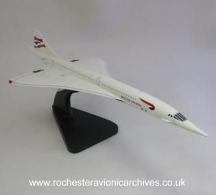 Concorde Model in British Airways livery