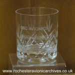 Commemoration Cut-Glass Tumbler