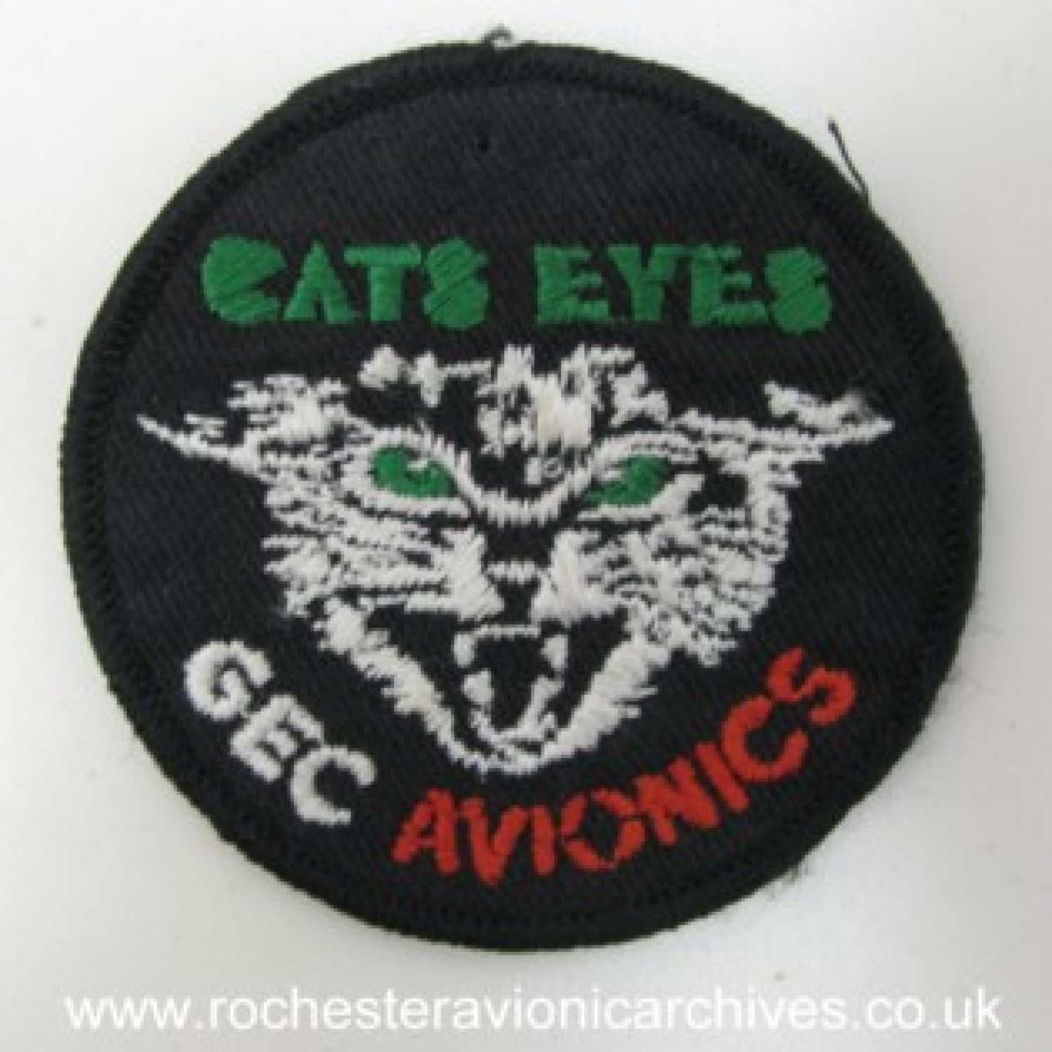 Cats Eyes™ Sew-On Badge