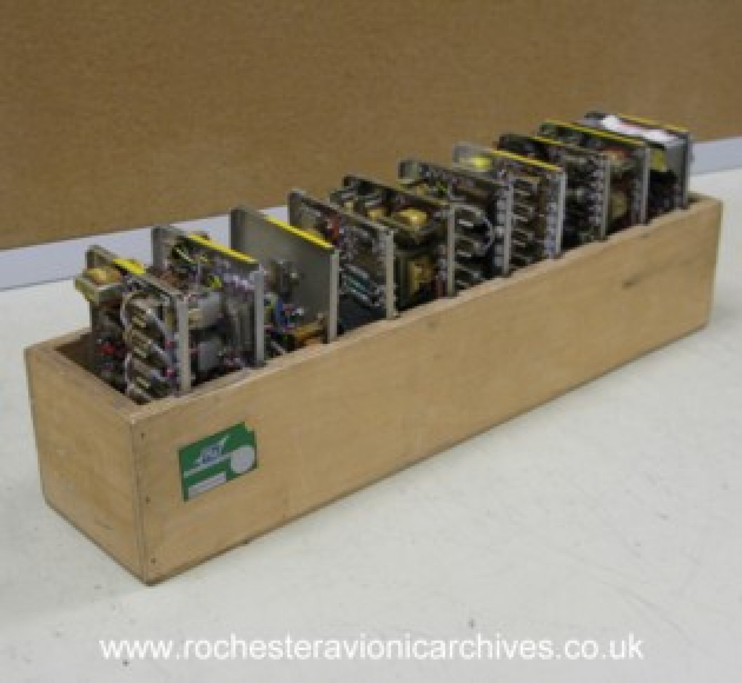 Box of VC10 Circuit Modules